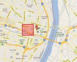 Geofence in St Louis Missouri