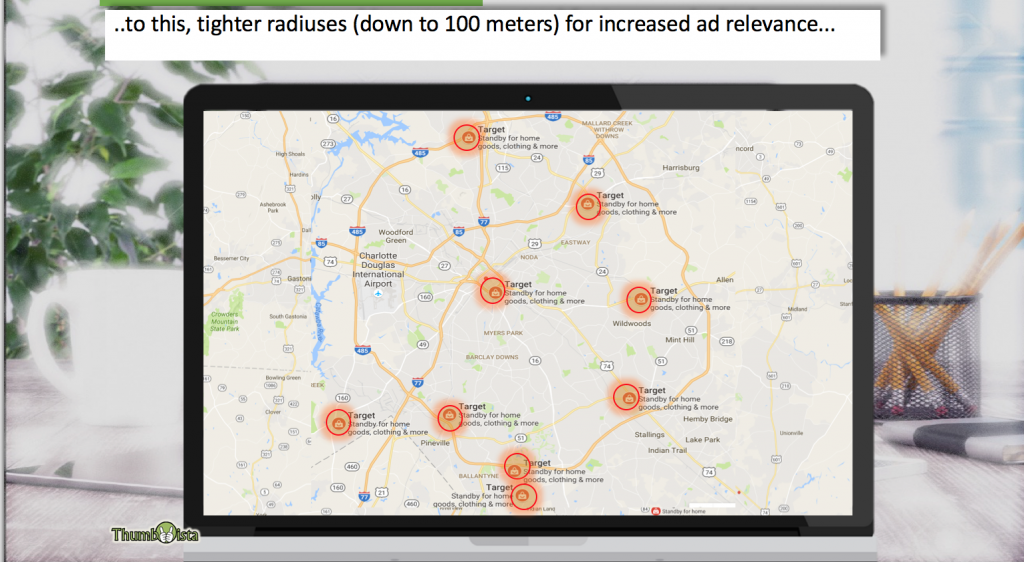 Geofencing for retail