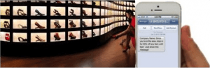 Location based marketing for shoe store