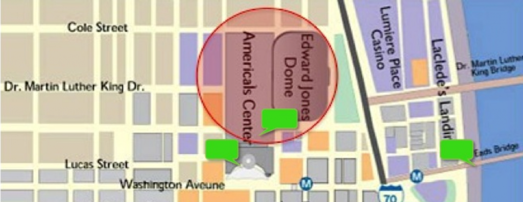 Event Geofence