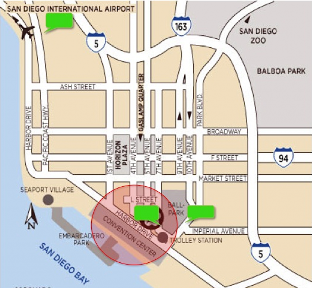convention geofence