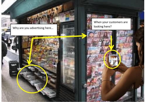 Mobile vs print