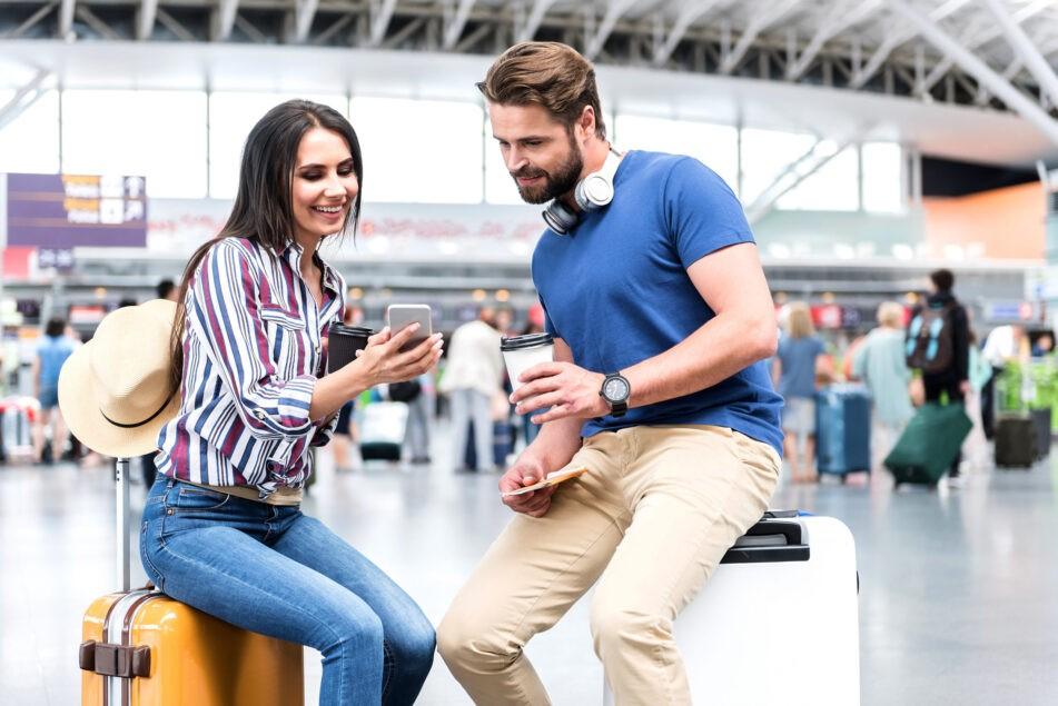 Mobile advertising targeting travelers