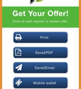 Thumbvista mobile coupon solution