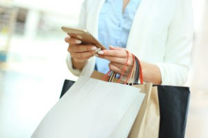 retail marketing for shoppers using mobile